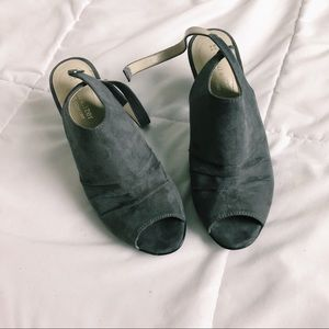 NWOT heeled booties